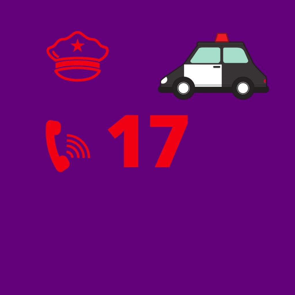 France police number