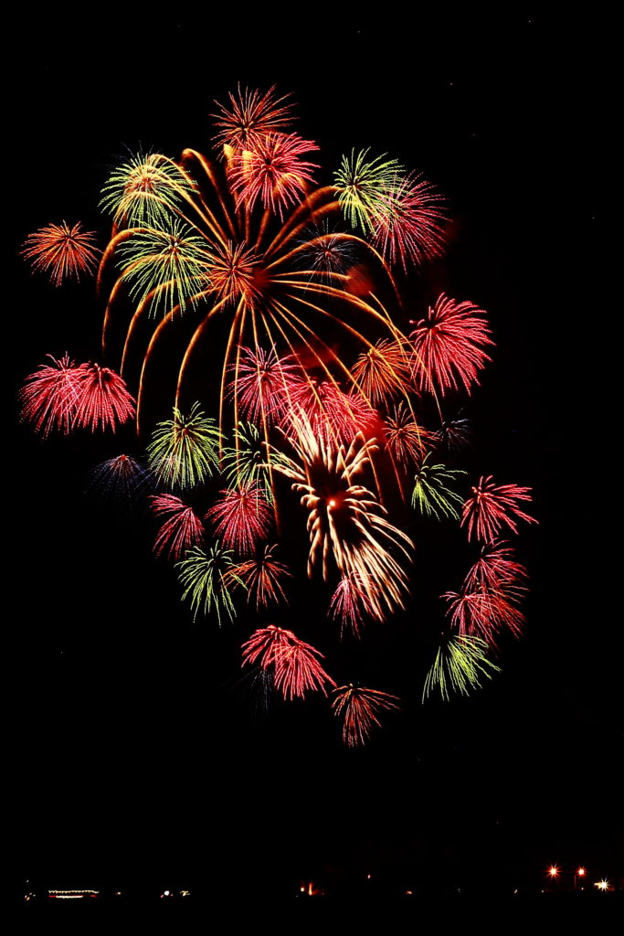 French national day fireworks