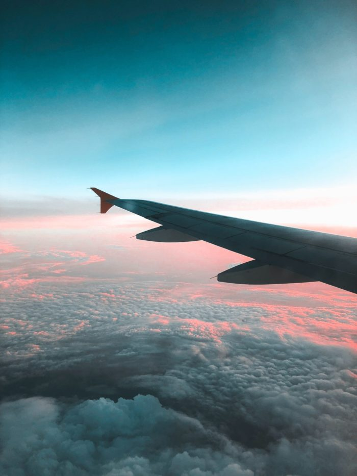 plane wing expatriate to France