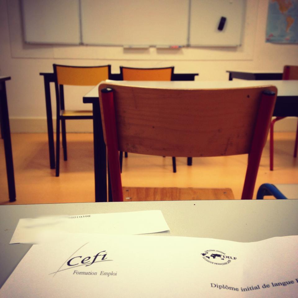 DELF exam