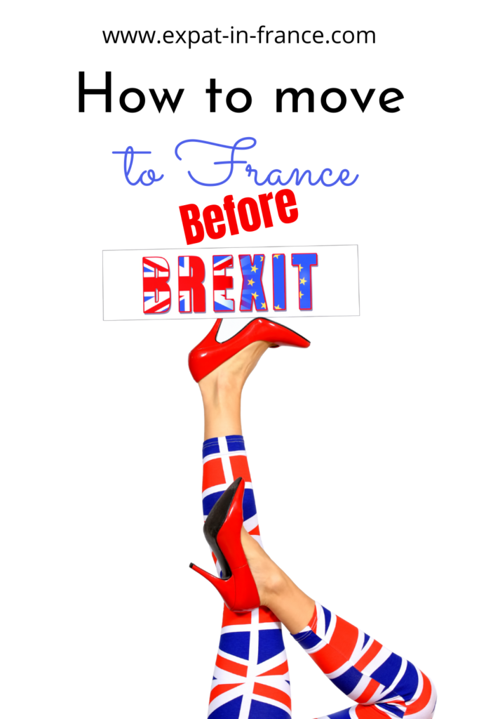Moving to France before Brexit