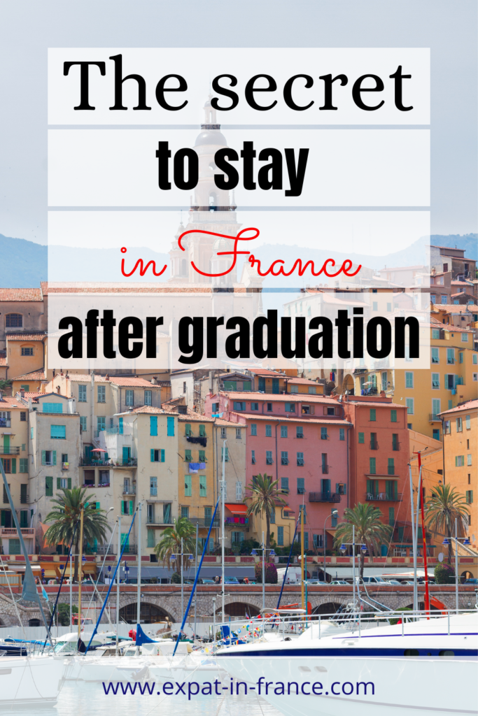Stay in France after studies