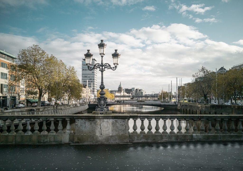 Dublin Liffey river