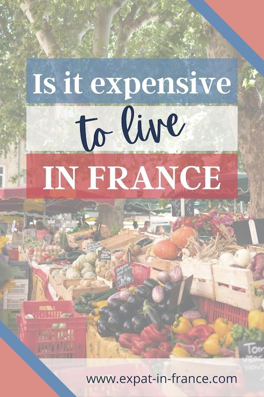 living cost in France