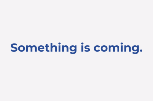 something is coming